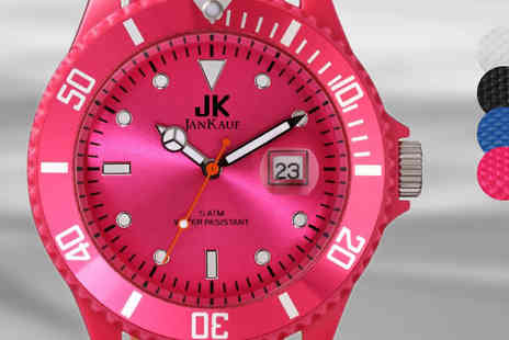 Jan Kauf - Jan Kauf Watches in 4 Colours - Save 87%