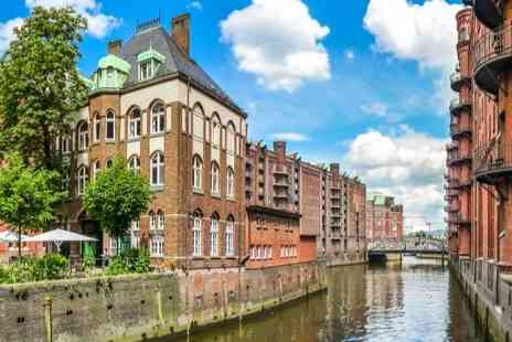 The Rilano Hotel Hamburg - Two or Three nights Stay in a room overlooking the River Elbe including a daily breakfast, access to sauna, and use of a mini-bar - Save 0%