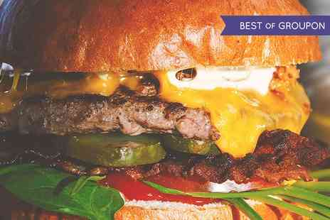 Dirty Blonde - Burger or Hot Dog with Fries and Salad for Two or Four - Save 48%
