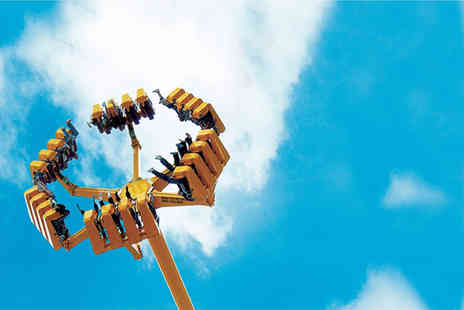 Lightwater Valley Theme Park - One day ticket for those over 1m tall with queue jump  - Save 0%