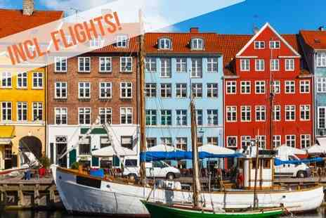 Oslo & Copenhagen - Five night getaway that includes hotel stays - Save 0%