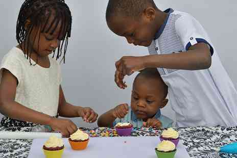 Cakes and Sugarcraft Supplies - One Hour Childrens Cupcake Decorating Class for One or Two - Save 0%