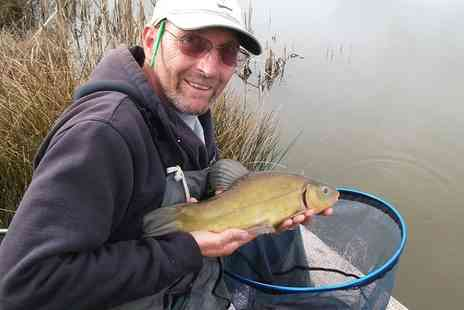 Bake Fishing Lakes - One Day Coarse Fishing Pass For One, Two or Four  - Save 0%