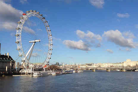 London Party Boats - Child ticket for a Thames cruise and afternoon cream tea - Save 19%