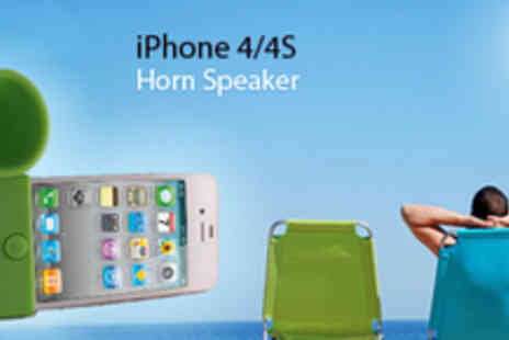 Gifts 4 U - Horn Speaker iPhone 4/4S - Save 80%