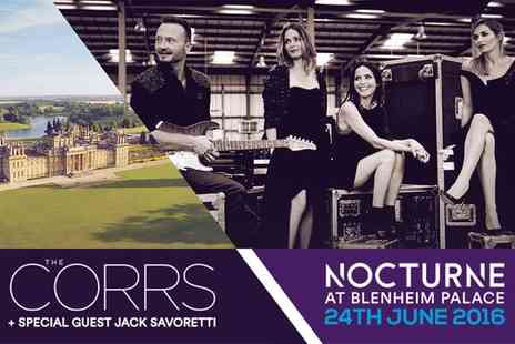 Nocturne at Blenheim Palace 2015 - The Corrs and Jack Savoretti at Nocturne Live 2016 on 24 June  - Save 0%
