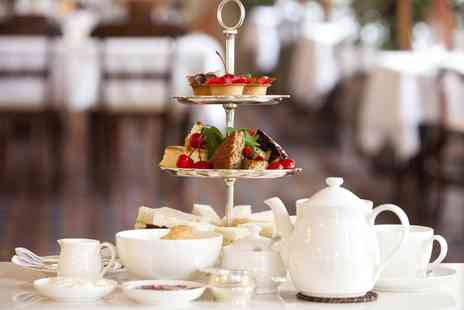 Caffe Ethos - Afternoon Tea with Optional Glass of Prosecco for Two - Save 50%