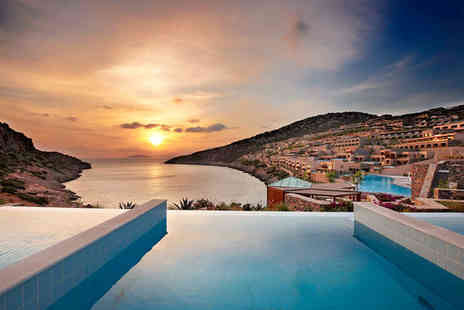 Daios Cove Luxury Resort & Villas - Five Star 7 nights Stay in a Promo Deluxe Sea View Room with Individual Pool - Save 65%