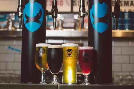 BrewDog - Tutored craft beer tasting experience for two with a selection of cheese and meats - Save 62%