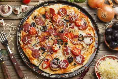 Caffe Ethos - Pizza and Prosecco for Two or Four - Save 53%