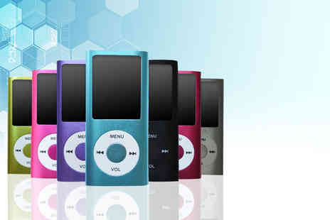 Wowcher Direct - An 8GB MP4 player choose from five colours - Save 80%