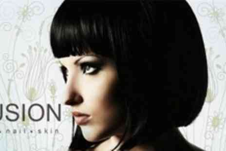 Fusion Hair and Beauty - Cut and Blow Dry - Save 64%