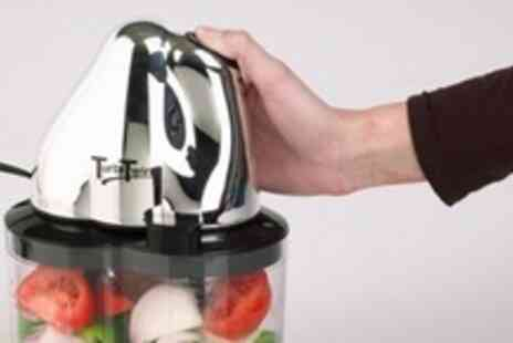Groupon Shop - TurbiTwin Blender With Storage Lid - Save 69%