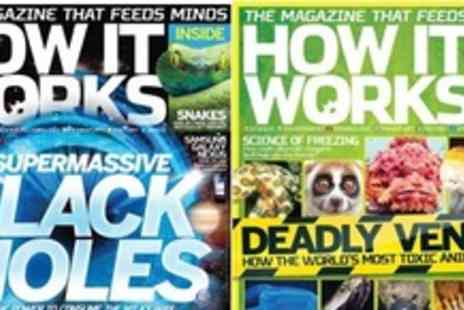 Imagine Publishing - Family Magazine subscription to 'How it Works' For Six months or One year - Save 50%