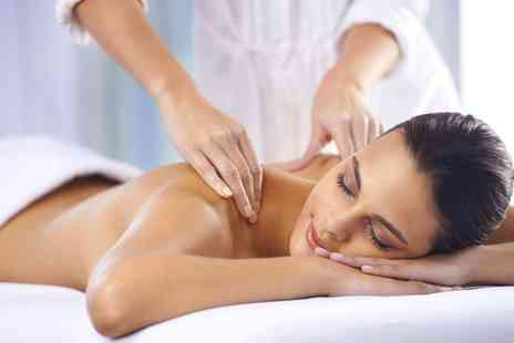 De Luca Beauty - Back, Neck and Shoulder Massage, Express Facial or Both - Save 40%