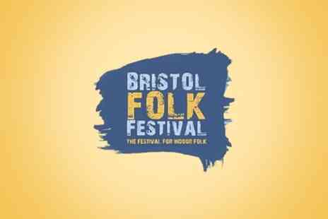 Curated by Groupon Events - Weekend Ticket to Bristol Folk Festival, 31 April To 1 May - Save 42%