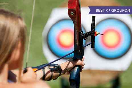 Leisure Matters - Archery and Air Rifle Shooting Experience with Optional Axe Throwing - Save 68%