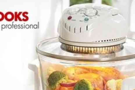 James Russell - Halogen Oven With Complete Set of Accessories - Save 56%