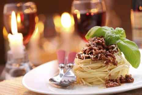 Clarence Villa - Pizza or Pasta with Bottle of Wine for Two - Save 34%