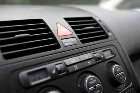Tyre & Exhaust Services - Car Air Conditioning Service With Re Gas - Save 0%