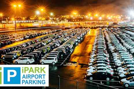 iPark Airport Parking - Meet and Greet Airport Parking at 12 UK Airports - Save 0%