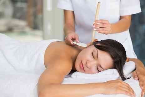 Rose NV - Hopi Ear Candling and Lymphatic Face and Neck Massage - Save 48%