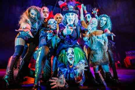 The Circus of Horrors - The Circus of Horrors One Ticket, 25 April - Save 51%