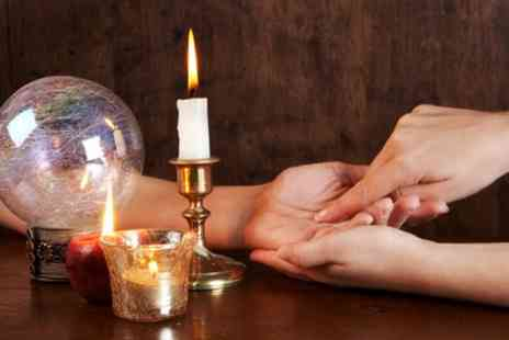 1 Hypnosis - One or Three 30 or 60 Minute Sessions of Tarot or Palm Reading - Save 63%