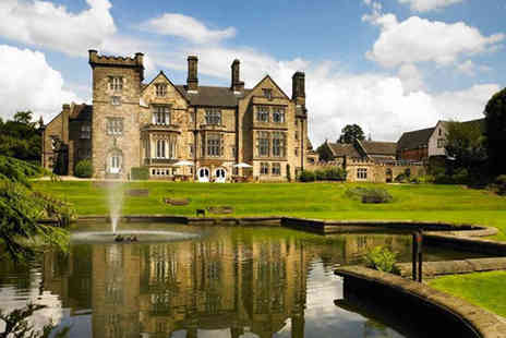 Breadsall Priory Marriott Hotel - Full day leisure club access and a mini afternoon tea for two  - Save 46%