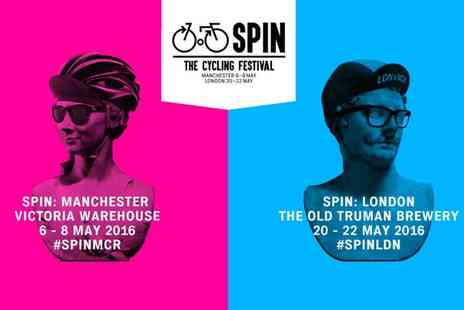 Spin Manchester - The Cycling Festival One Ticket, 6 To 8 May - Save 50%