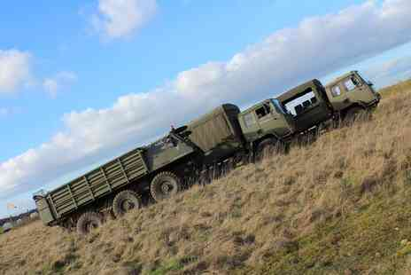 Challenger - Army Truck Driving Experience or Passenger Ride - Save 34%