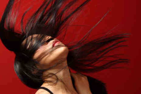 CV Hair & Beauty - Wash, Hair Cut & Blow Dry including Luxury Hair Treatment - Save 55%