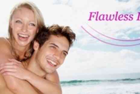 Flawless Luxe - Six Sessions of IPL Hair Removal on Areas such as Half Leg - Save 83%