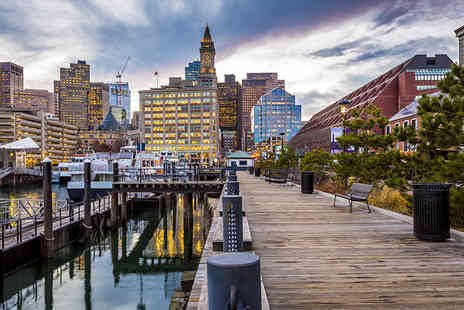 Weekender Breaks - Three night Boston and three night New York trip, including flights, accommodation and Amtrak train transfers - Save 24%