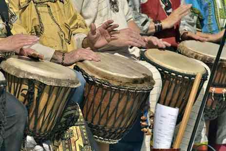 London African Drumming - Five or Ten Two Hour African Drumming or Dancing Experience - Save 71%