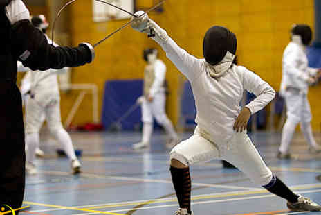 Central London Fencing Club - Two hour fencing taster session - Save 61%