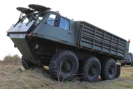 Challenger - Military Stalwart 6x6 Off Road Passenger Ride  - Save 34%