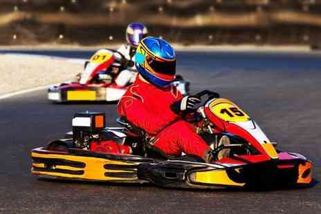 Karting UK - 30 lap indoor karting experience for one - Save 62%