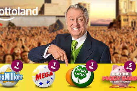 Lottoland - EuroMillions, US MegaMillions, Irish Lotto Bets & 5 Online Scratchcards - Save 0%