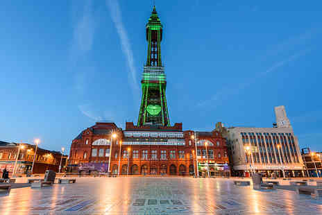 The Cavendish Hotel - Blackpool stay for two including breakfast and a bottle of wine - Save 52%