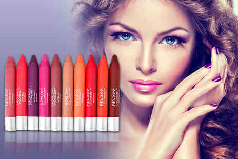 Quick Style - Four Revlon Colour Burst matte and gloss lip balms choose from four sets - Save 78%