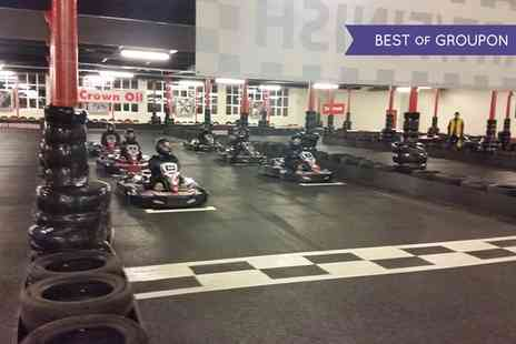 TeamKarting - Up to 80 Laps of Go Karting - Save 0%