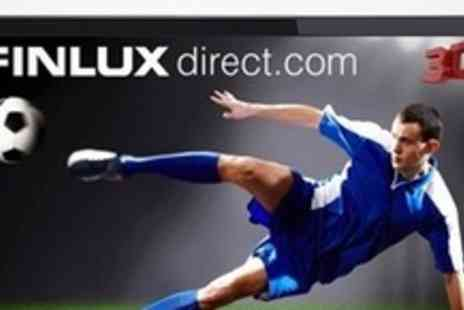 "Finlux Direct - Finlux 42"" LED 3D 1080p Full HD TV With Eight Pairs of 3D Glasses - Save 50%"