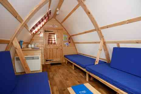 Wigwam at NDAC - One or Two Night Wigwam Stay For Up To Five With Parking - Save 0%