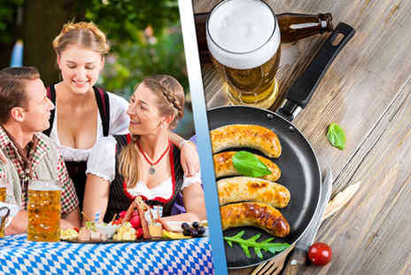 German Bierfest - Two tickets on 26th or 29th May 2016 to Bierfest including beer and Bavarian sausage - Save 50%