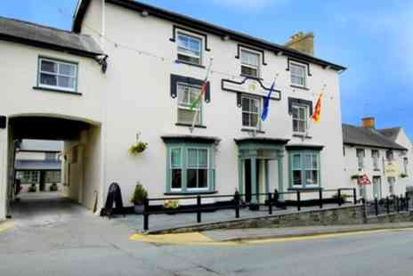 Gwestyr Emlyn Hotel - One to Three Nights Stay For Two With Breakfast and Spa Access  - Save 58%