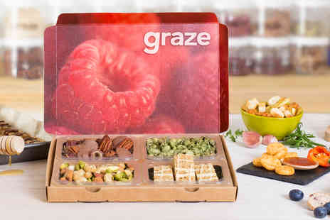 graze - Your first four snack boxes when you sign up to graze - Save 79%