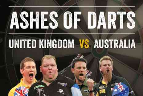 Walkabout - Ashes of Darts Two Tickets On 26 May - Save 50%