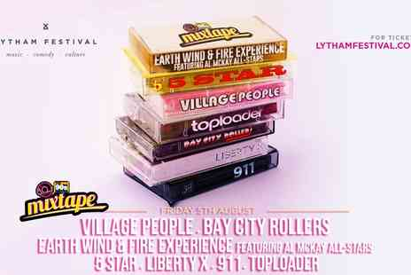 Cuffe & Taylor - Ticket to 80s & 90s Mixtape ft The Village People at Lytham Festival on Friday 5th August - Save 0%
