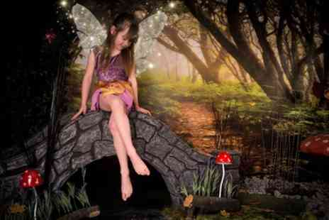 Firefly Photography - Fairy or Elf Themed Photoshoot with a Framed Print - Save 77%